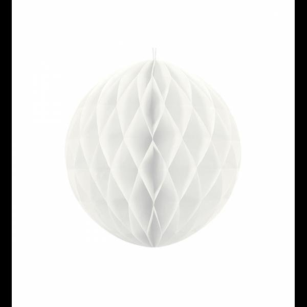 Wabenball Weiß 20cm
