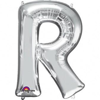 XXL Buchstabe R Silber
