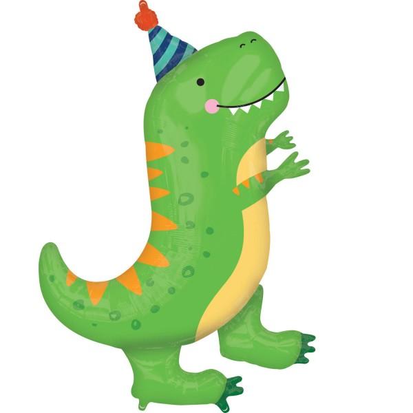 Folienballon Happy Dino